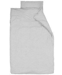 Taftan European Brand Big Size Quilt Checks Grey