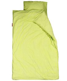 Taftan European Brand Big Size Quilt Checks Lime
