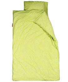 Taftan European Brand Big Size Quilt Checks Lime