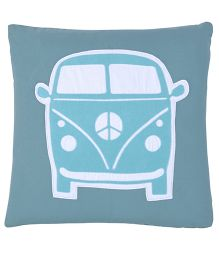 Taftan European Brand Big Cushion Plus Cushion Cover Car Grey Blue