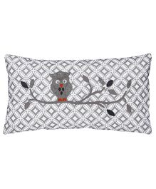 Taftan European Brand Cushion Plus Cushion Cover Owl Grey