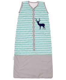 Taftan European Brand Sleeping Bag Sleeveless Blue Deer