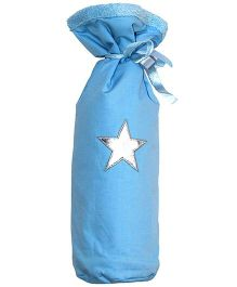 Taftan European Brand Bottle Cover Star Light Blue