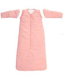Taftan European Brand ORGANIC Full Sleeve Adjustable Sleeping Bag  Pink