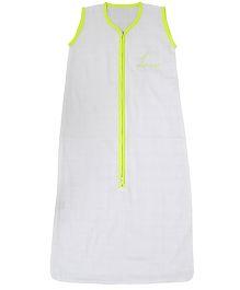 Taftan European Brand ORGANIC Sleeveless Adjustable Sleeping Bag Neon Yellow