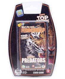 Top Trumps Deluxe Predators - 30 Cards