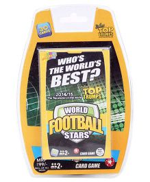 Top Trumps Deluxe World Football Stars - 30 Cards