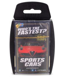 Top Trumps Super Deluxe Sports Cars - 30 Cards