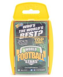 Top Trumps Super Deluxe World Football Stars - 30 Cards