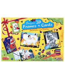 Petals 3D Frame N Cards Kit