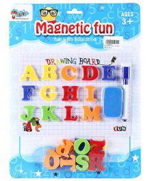 Shadilal Magnetic Drawing Board - Fun Letters