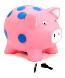 Speedage Piggy PVC Money Bank - Pink