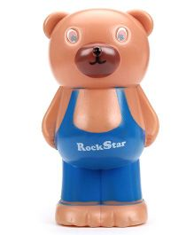 Speedage Money Bank Teddy Bear Shape (Color May Vary)
