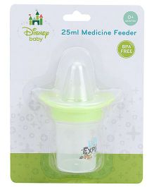 Disney Baby Medicine Feeder Green - 25 ML