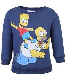 Fox Baby Full Sleeves Sweatshirt - Blue
