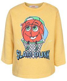 Fox Baby Full Sleeves Fleece T-Shirt