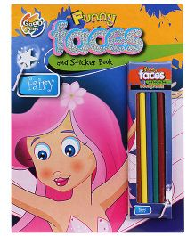 Chitra Fairy Funny Faces And Sticker Book - English