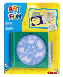 Art & Fun Magic Designer Stencil - Green