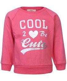 Fox Baby Full Sleeves Fleece T-Shirt  - Cool Print