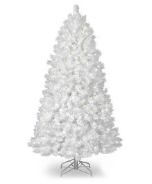 Wanna Party Pine Christmas Tree - White