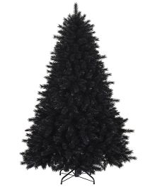 Wanna Party Pine Black Christmas Tree