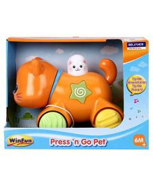 Winfun Press N Go Pet Kitten (Color May Vary)