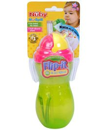 Nuby No Spill Flip It Straw Cup - 420 ml