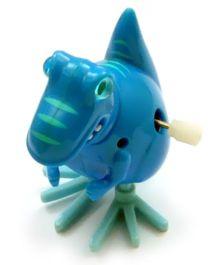 Baby Steps Rapid Dinosaur Wind Up Toy Blue