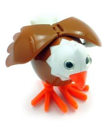 Baby Steps Sky Animal Wind Up Toy Brown