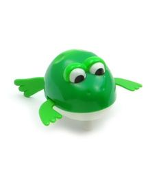Baby Steps Swimming Creature Frog Wind Up Water Toy