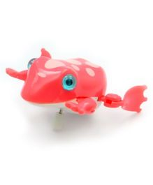 Baby Steps Swimming Creature Water Toy Wind Up Frog