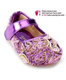 Shoebiz Bellies Velcro Strap - Purple