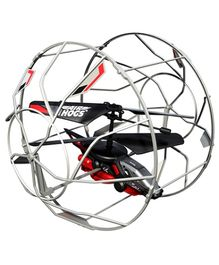 Airhog Remote Control Rollercopter - Black And Red