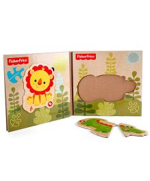 Fisher Price My First Funny Magnet Puzzle - Wooden Toy
