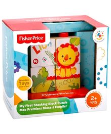 Fisher Price My First Stacking Block Wooden Puzzle