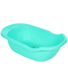 Fab N Funky Bath Tub Happy Print - Green
