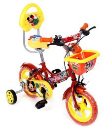 Hero Cycles Disney Mickey 12T Bicycle - Orange