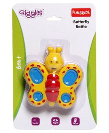 Giggles - Butterfly Rattle
