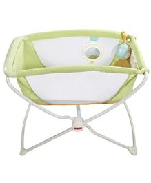 Fisher Price Rock N Play Bassinet - Green