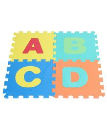 Kiddy Alphabet Puzzle Mat Multicolour - 26 Pieces
