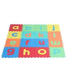 Kiddy Lower Alphabet Puzzle Mat Multicolour - 26 Pieces
