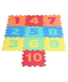 Kiddy Foam Hopscotch Numbers Puzzle Mat - 10 Pieces