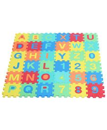 Kiddy Alphabets And Numbers Puzzle Mat - 36 Pieces