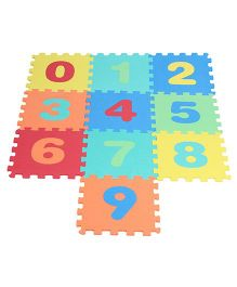 Kiddy Numbers Puzzle Mat - 10 Pieces