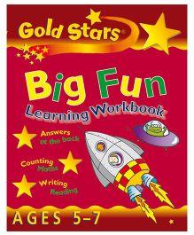 Gold Stars Big Fun Learning Workbook - English