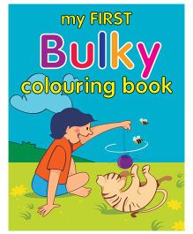 My First Bulky Colouring Book - English
