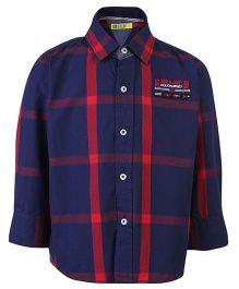 Gini & Jony Full Sleeves Shirt - Checks Print