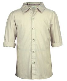 ShopperTree Solid Full Sleeves Shirt