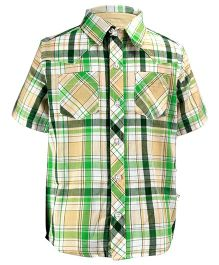 ShopperTree Multicolour Check Shirt For Kids  9-10Y