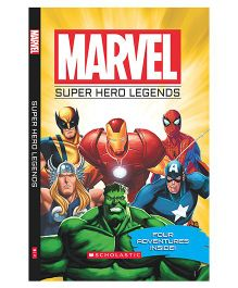 Scholastic Book Marvel Super Hero Legend - English
